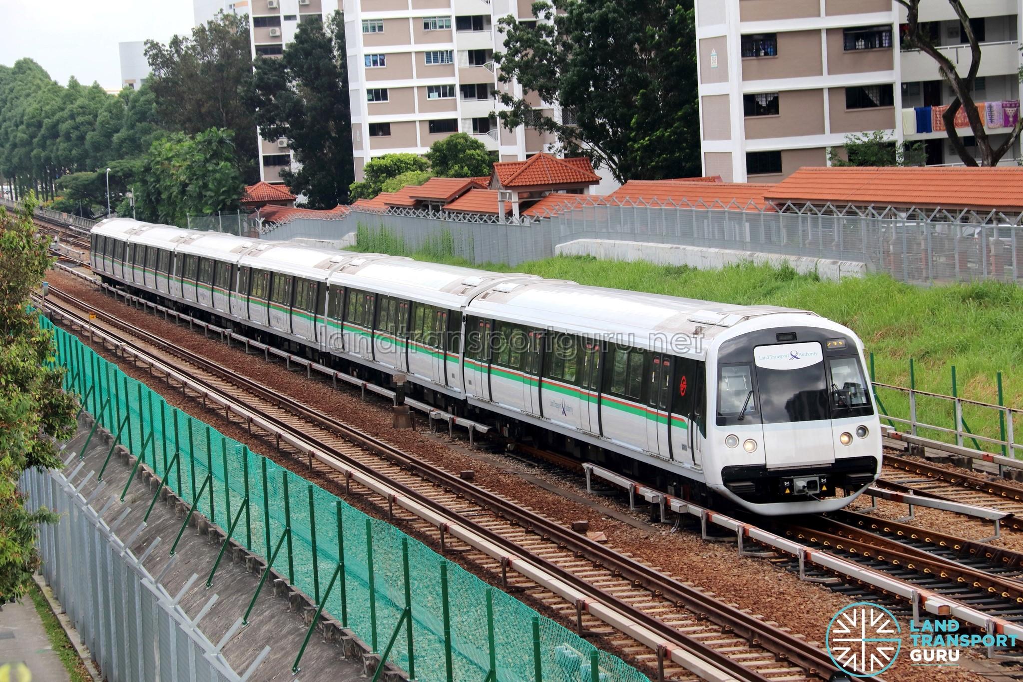 SMRT C151C Train