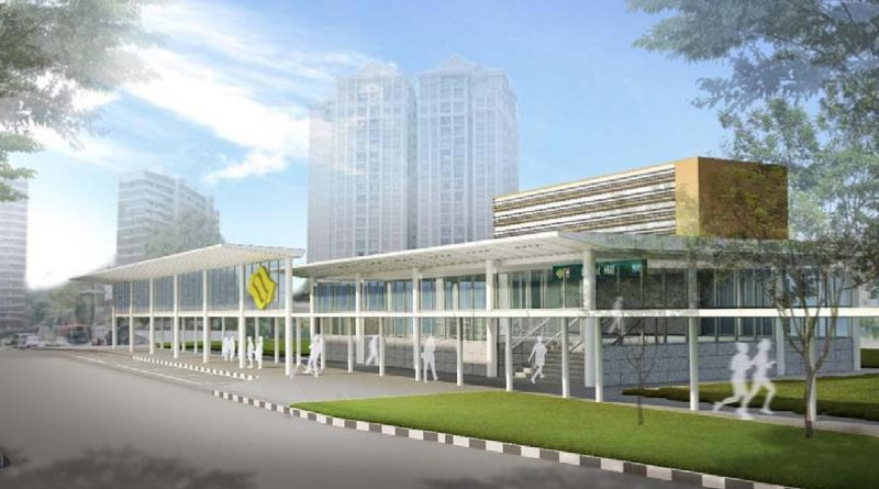 Artist's Impression for TE07 Bright Hill MRT Station (Photo: LTA)