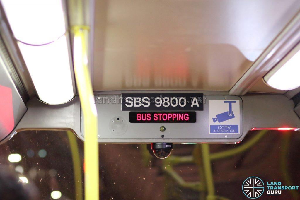 Volvo B10TL Interior - Upper Deck (SBS9800A)
