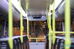 Volvo B10TL Interior - Upper Deck (SBS9800A)