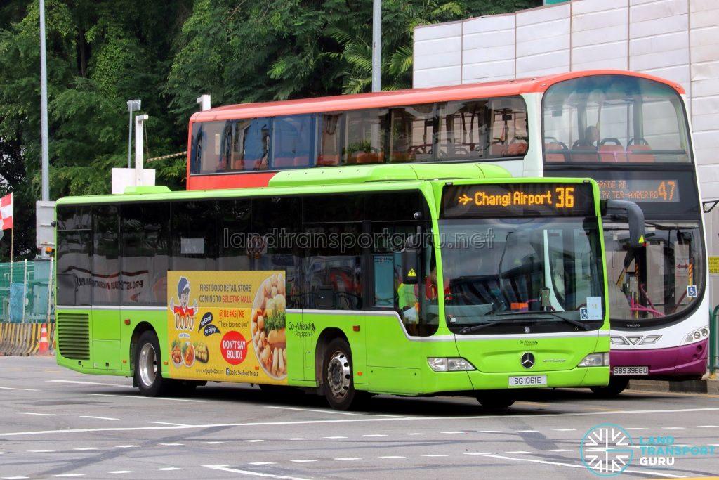 Service 36 - Go-Ahead Mercedes-Benz Citaro (SG1061E)