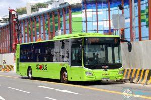 SBS Transit Bus Service 16 - MAN A22 Euro 6 (SG1765H)