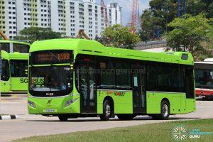 SMRT Bus Service 859B - Volvo B5LH (SG3037M)