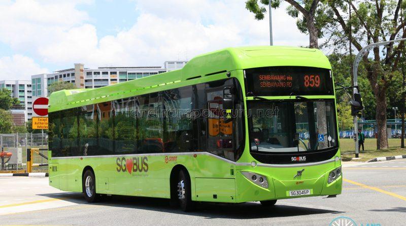 SMRT Bus Service 859 - Volvo B5LH (SG3045P)