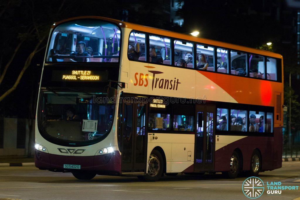 Shuttle 21 - SBS Transit Volvo B9TL (SG5402D)