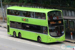 Bus Service 132 - SBS Transit Volvo B9TL Wright (SG5604M)