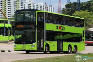 SBS Transit Bus Service 117 - MAN Lion's City DD A95 (SG5938A)