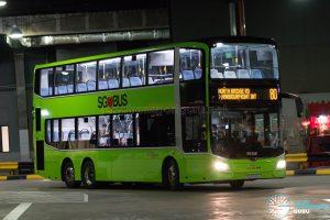 SBS Transit Bus Service 80 - MAN Lion's City DD A95 (SG6045U)