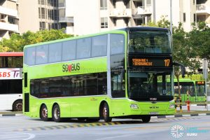 SBS Transit Bus Service 117 - MAN Lion's City DD A95 (SG6046S)