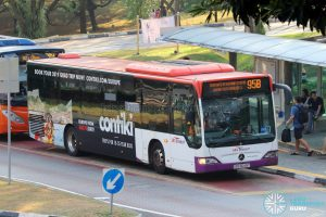 Short Trip Service 95B - SBS Transit Mercedes-Benz Citaro (SBS6049Y)