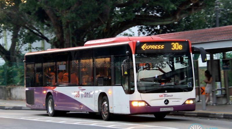 Express Bus Service 30e - SBS Transit Mercedes-Benz Citaro (SBS6223K)