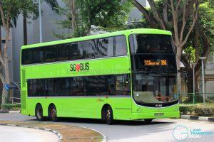 Bus Service 196 - SBS Transit Volvo B9TL CDGE (SBS7357B)