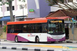 Short Trip Service 137A - SBS Transit Scania K230UB Euro IV (SBS8346B)