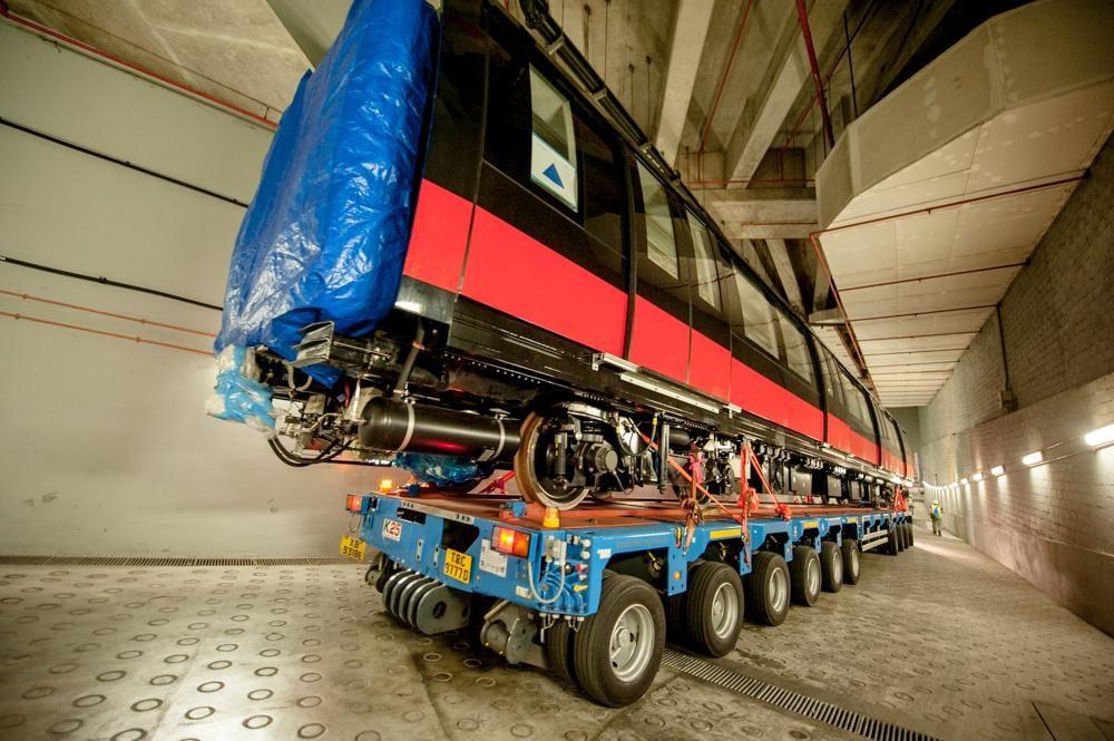 Kim Chuan Depot: Vehicular Ramp (Photo: LTA)