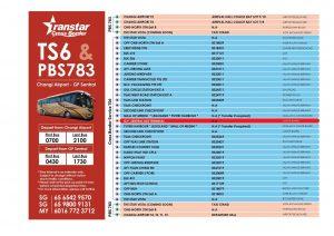 Transtar Route Poster for TS6 & Premium 783