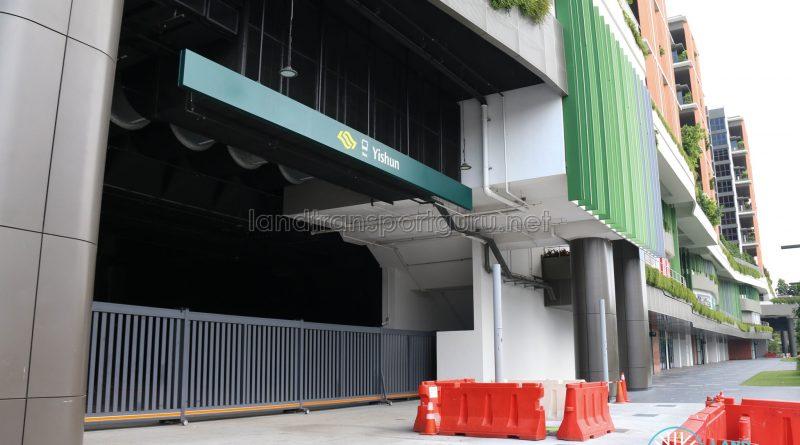 Yishun Integrated Transport Hub Entrance (Feb 2019)