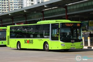 Bus 386 - Go-Ahead MAN Lion's City A22 (SG1798M)