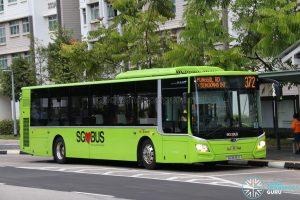 Bus 372 - SBS Transit MAN Lion's City A22 (SG1846H)