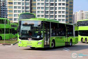 Feeder Bus Service 386 - Go-Ahead MAN A22 (Euro 6) (SG1849A)
