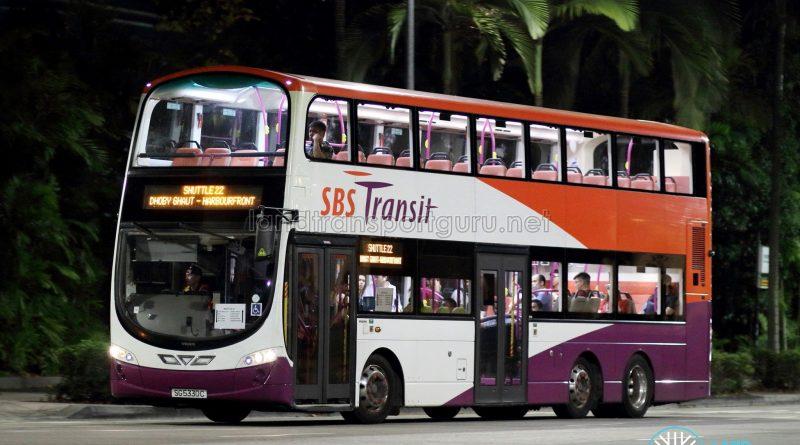 Shuttle 22 - SBS Transit Volvo B9TL Wright (SG5330C)