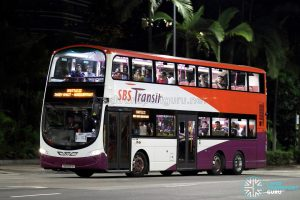 Shuttle 22 - SBS Transit Volvo B9TL Wright (SG5391B)