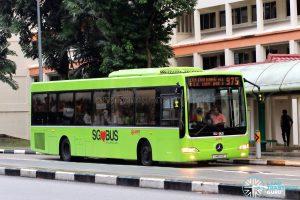 Bus 975 - SMRT Buses Mercedes-Benz OC500LE (SMB54E)