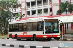 Bus 975 - SMRT Buses Mercedes-Benz OC500LE (SMB55C)