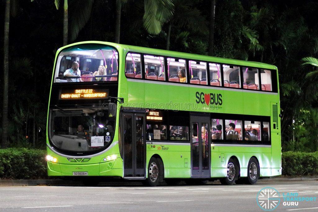 Shuttle 22 - SBS Transit Volvo B9TL Wright (SG5606H)