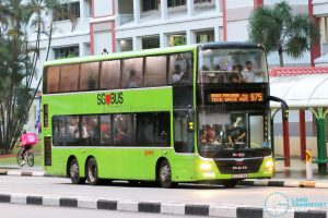 Bus 975 - SMRT Buses MAN A95 (SG5774E)