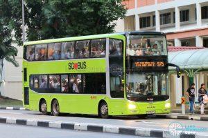 Bus 975 - SMRT Buses MAN A95 (SG5887M)