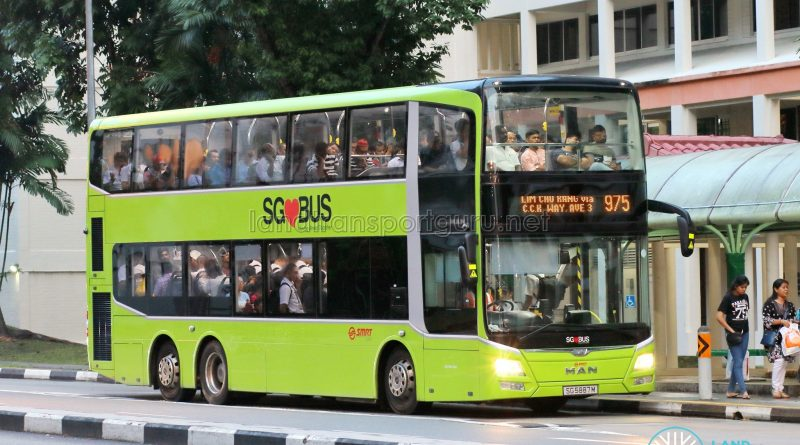 Bus 975 - SMRT Buses MAN A95 (SG5887M)