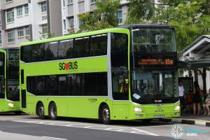 Bus Service 85A - Go-Ahead MAN Lion's City DD (SG5910D)