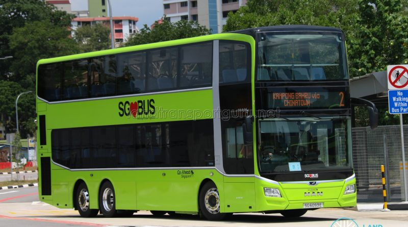 Bus 2 - Go-Ahead MAN Lion's City DD A95 (SG6093E)