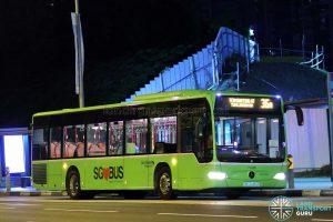 Bus Service 36A - Go-Ahead Mercedes-Benz Citaro (SBS6466B)
