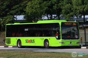 Bus 34B: Go-Ahead Mercedes-Benz Citaro (SBS6478S)