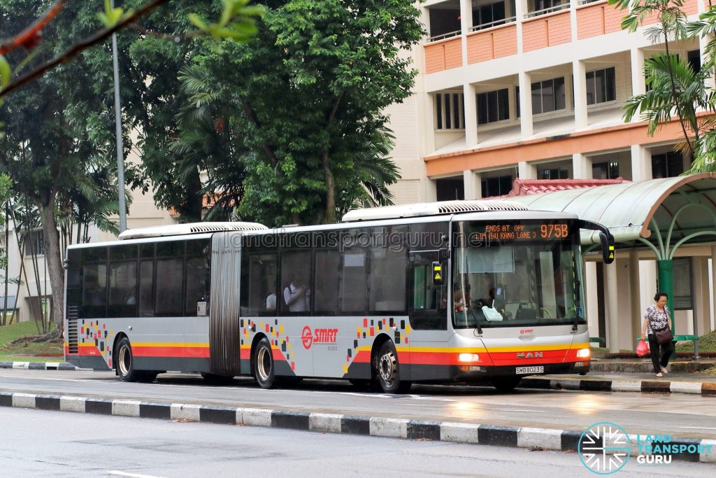 Bus 975B - SMRT Buses MAN A24 (SMB8023S)