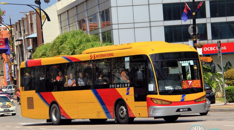 S&S International SKSbus SA12-300 (BMX9787) - Route 7