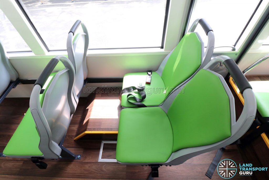 BYD C6 - Interior - Rear Wheelarch Seats