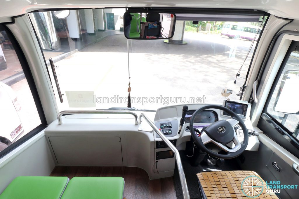 BYD C6 - Interior - Front Section