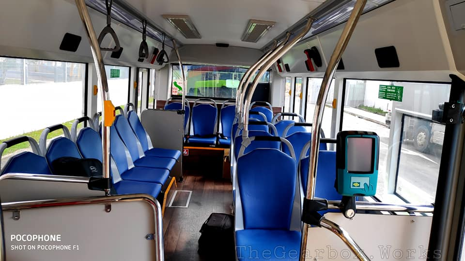 BYD D6R - Interior seating; Photo: Syabiel Ahamed