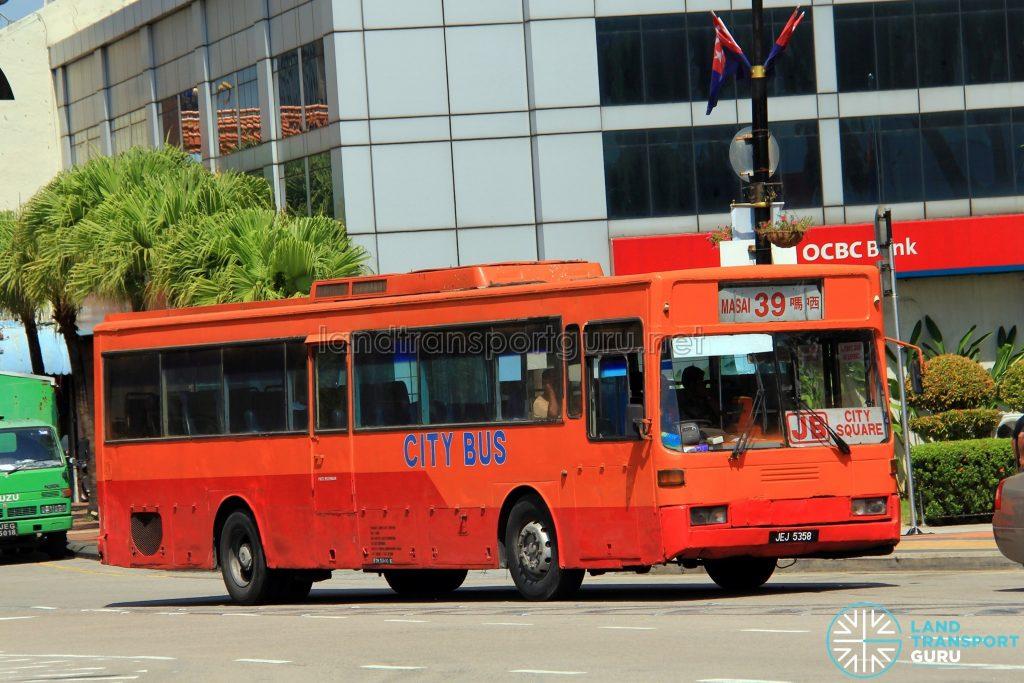 City Bus Mercedes-Benz O405 (JEJ5358) - Route 39