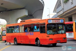 City Bus Mercedes-Benz OH1318 (JEL4462) - Route 123