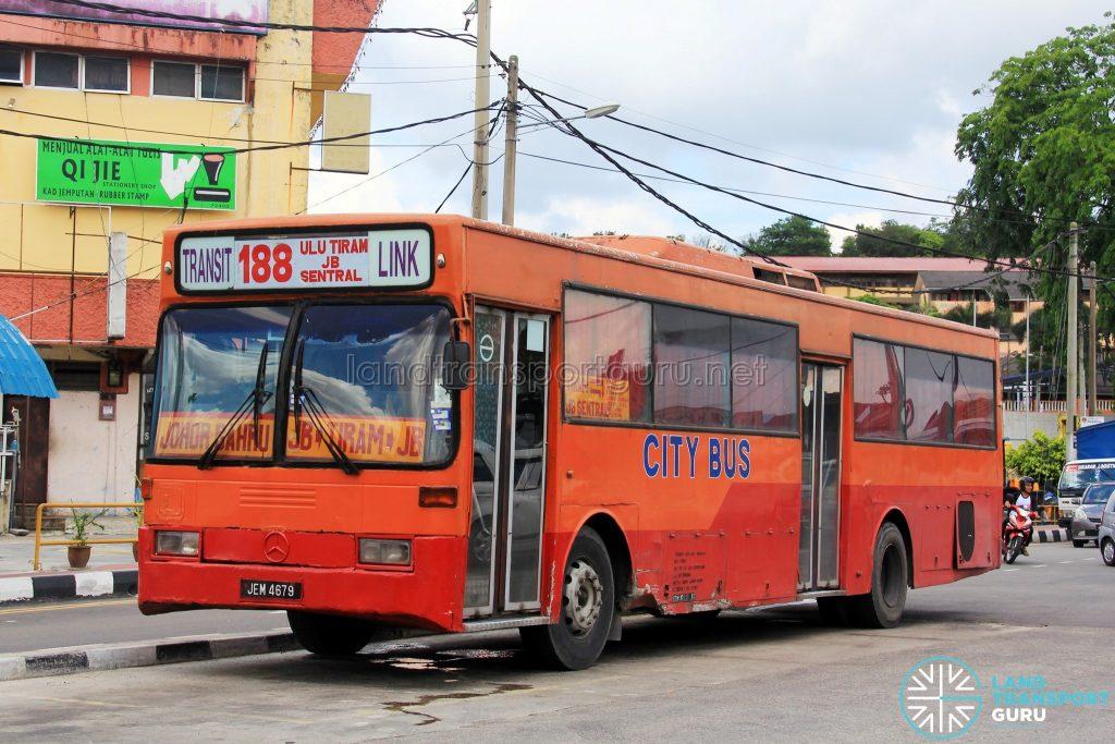 City Bus Mercedes-Benz O405 (JEM4679) - Route 188