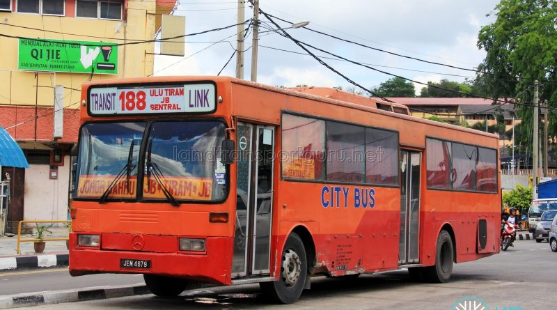 City Bus Mercedes-Benz O405 (JEM4679) - Route 188