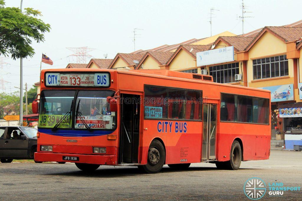 City Bus Mercedes-Benz O405 (JFB1938) - Route 133