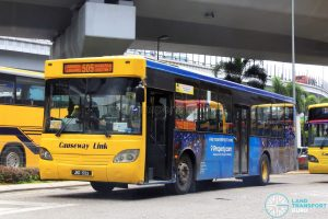 Causeway Link Mercedes-Benz CBC 1725 (JKD1723) - Route 505