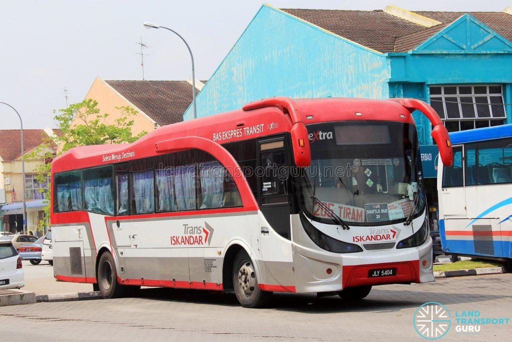 Maju Hino AK (JLY5404) - Route 205