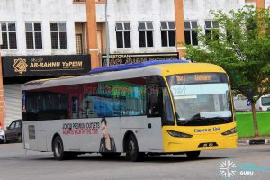 Causeway Link Sksbus SA12-300 (JNE290) – Service 52T