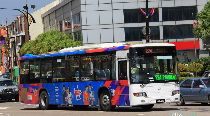 Maju Higer KLQ6128G (JNW4492) - Route 224