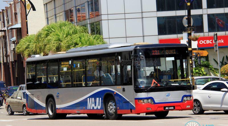Maju Higer KLQ6128G (JNX4666) - Route 221